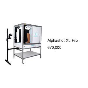 เครื่องถ่ายภาพสินค้า ขนาดกลาง Alphashot XL Pro