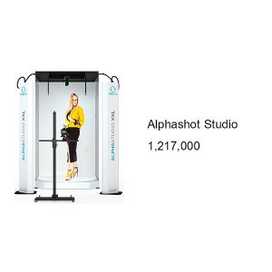เครื่องถ่ายภาพสินค้า ขนาดใหญ่ เช่น เสื้อผ้าแฟชั่น Alsphshot Studio XXL